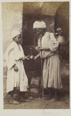 Photograph: Arab Man and Boy