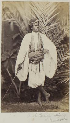 Photograph: Arab Boy with Stick