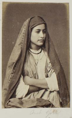 Photograph: Arab Girl, Cairo