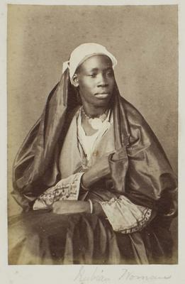 Photograph: Nubian Woman, Cairo