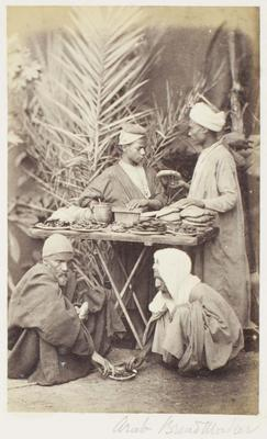 Photograph: Four at Bakery Stand, Cairo