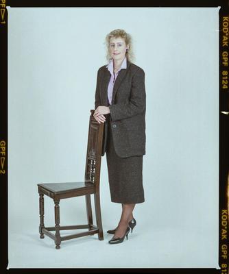 Negative: Miss Hadwin Portrait