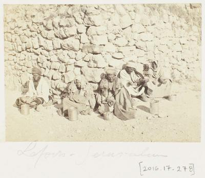 Photograph: Lepers, Jerusalem