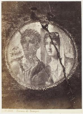 Photograph: Fresco di Pompeii, Couple