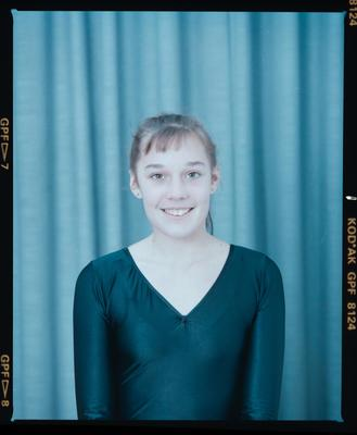Negative: Canterbury Rhythmic Gymnastics Senior National Team Member 1990