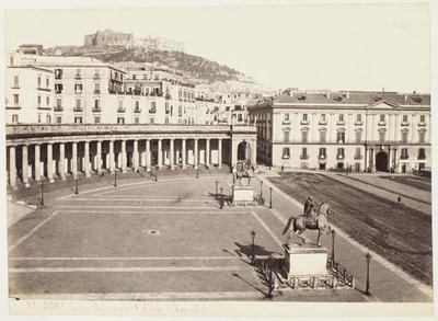Photograph: View of Castel Sant'Elmo, Naples