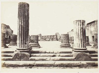 Photograph: Basilica Ruins, Pompeii