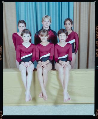 Negative: Canterbury Gymnastics Junior National Team 1990