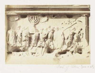 Photograph: Arch of Titus, Rome