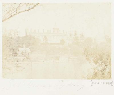 Photograph: Government House, Sydney