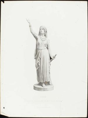 Engraving: Judith, G Stodart