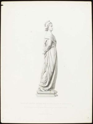 Engraving: Marie Antoinette, H Balding