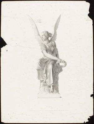 Engraving: Fame, C Rauch