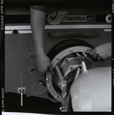 Negative: Hamilton Jet Mechanical Parts