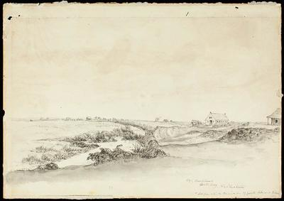 Sketch: Christchurch, Number One; 16 Jun 1851; 1949.29.4