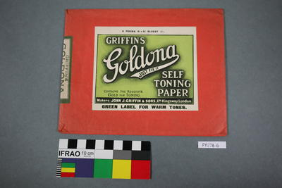 Paper: Griffin's Goldona Self Toning