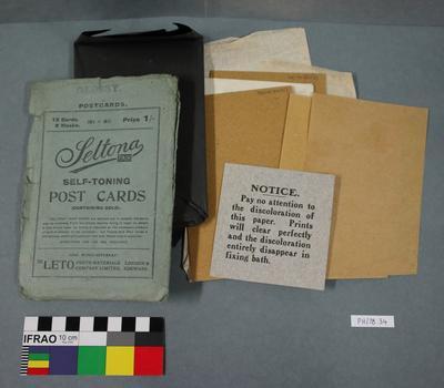 Paper: Leto Seltona Self-toning Post Cards
