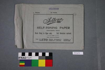 Paper: Leto Seltona Self-toning