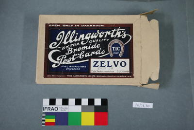 Paper: Illingworth's Extra Quality Bromide Postcards