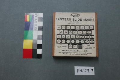Masks: For Lantern Slides