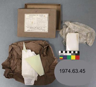 Box: Imperial Special Sensitive Glass Plates