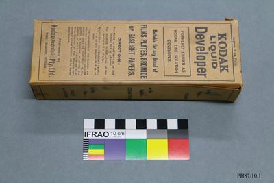Box: Kodak Liquid Developer