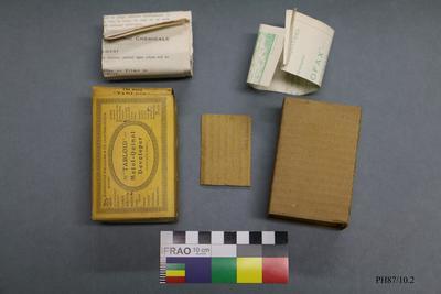 Box: Tabloid Metol-Quinoi Developer