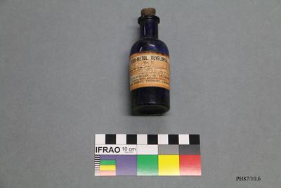 Bottle: Pyro-metol Developer