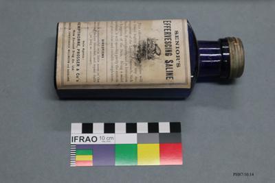 Bottle: Senior's Effervescing Saline