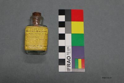 Bottle: Tabloid Metol-Quinol
