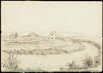 Sketch: Christchurch, Number Two; 16 Jun 1851; 1949.29.3
