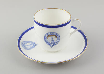 Cup and Saucer: China