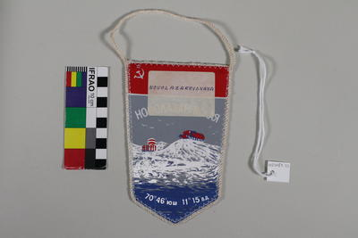Banner: Soviet Union Antarctic Expedition