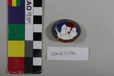 Badge: Soviet Union Antarctic Expedition
