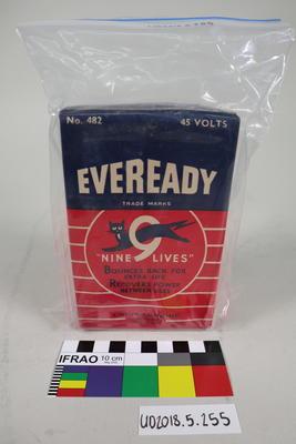 Radio B Battery: Eveready