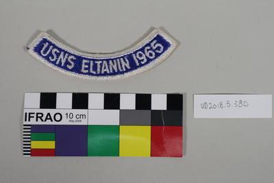Badge: USNS Eltanin 1965