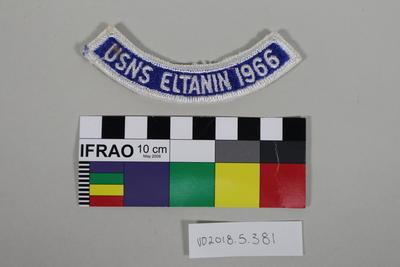 Badge: USNS Eltanin 1966