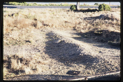 35mm Slide: Garden Wall, Fyffe Site Archaeological Excavation (S49/46)