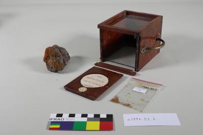 Specimen Case: Basalt and Lichen