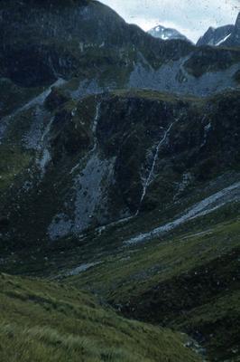 Slide: Saddle to West Cozette Burn