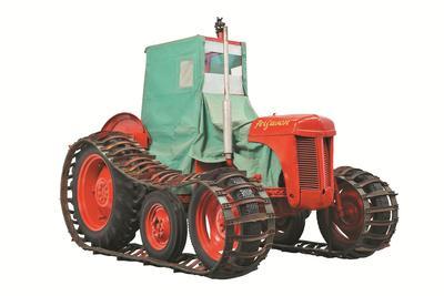 Tractor: Massey Ferguson