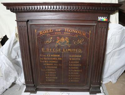 Board: Roll of Honour