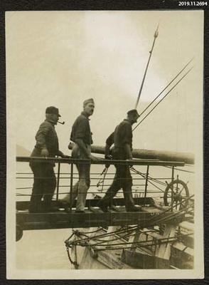 Photograph: Boarding a Ship
