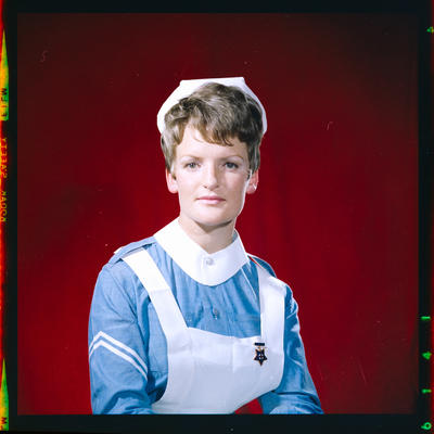 Negative: Miss Smith nurse portrait