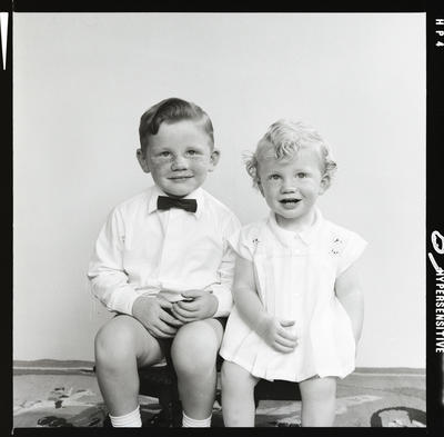 Negative: Blaikie children