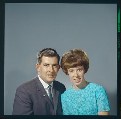 Negative: Mr Rushworth and Miss Randle portrait