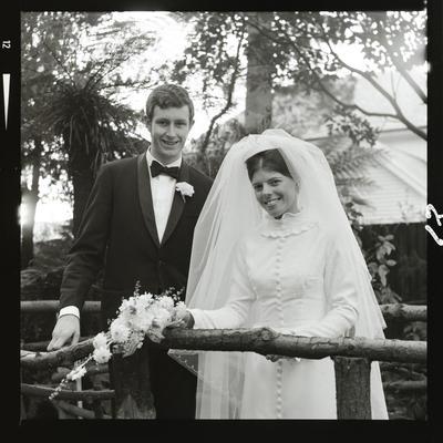 Negative: Lyons-White wedding