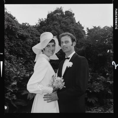 Negative: King-Stovold wedding
