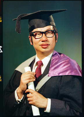 Negative: Mr Leow graduation