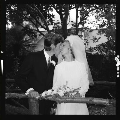 Negative: Butterfield-Crook wedding